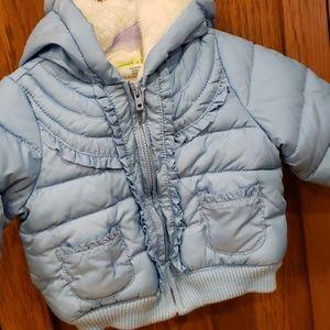 Crazy 8 baby poofy jacket